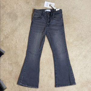 Zara kids flare jeans. 5-6 yrs